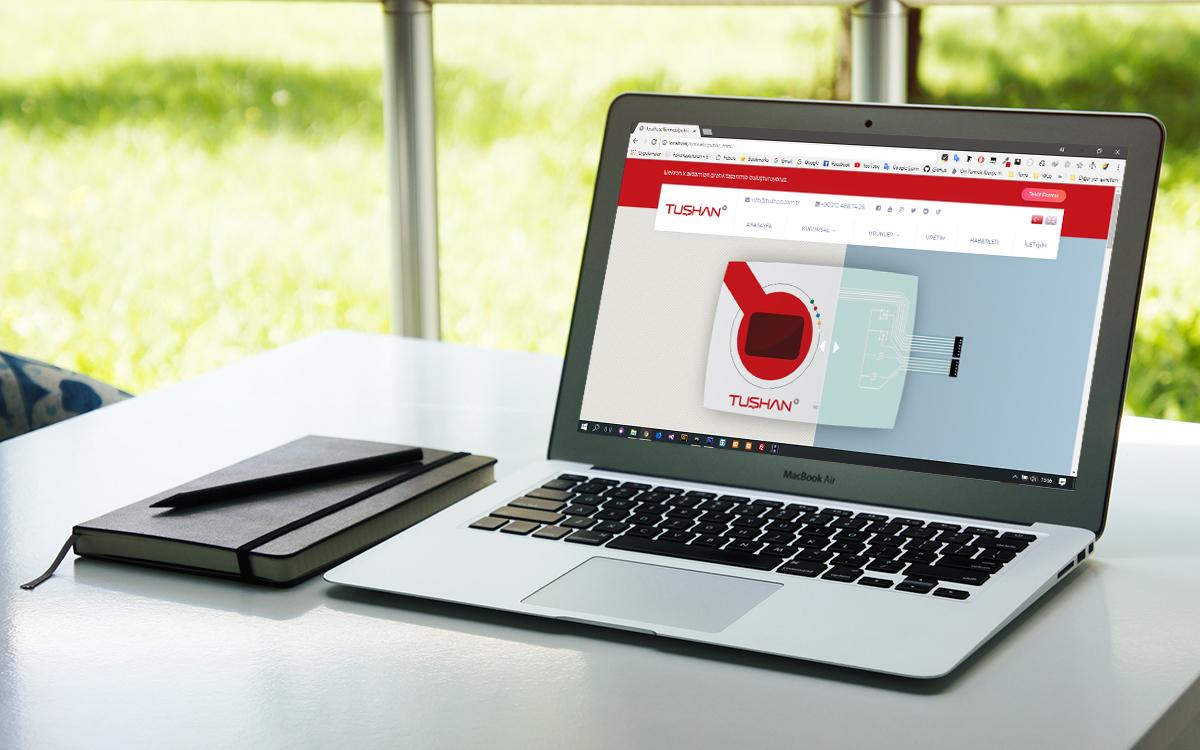 Yenilenen web sitemiz ile sanal alemdeyiz.